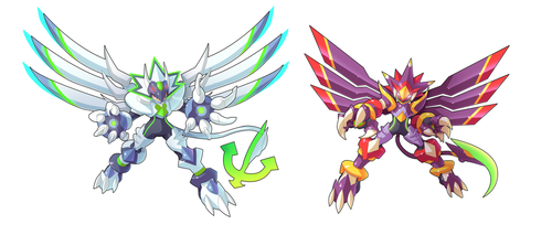 Commission: Model AC and C by ultimatemaverickx