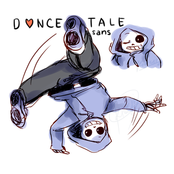 Dancetale - Sans by kiacii-official
