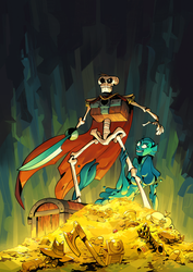 Crossbone Jones and Other Twisted Tales Cover by TR-B