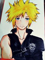Cloud Strife by bluemyzt