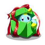 Chao in a Present by BlazingFire909