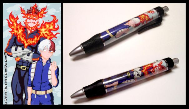 Father and Son Pen by MischievousPooka
