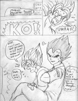 Goku vs. Vegeta Page7 by ViperXTR