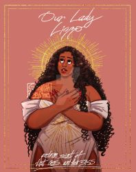 Our Lady Lizzo by CinnamonCarter410