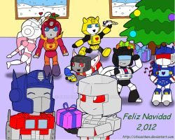 TRANSFORMERS: MERRY CHRISTMAS 2012 by CHICAIRKEN