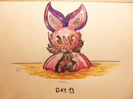 Inktober Day 13: Teeming by Steve-the-Lucario