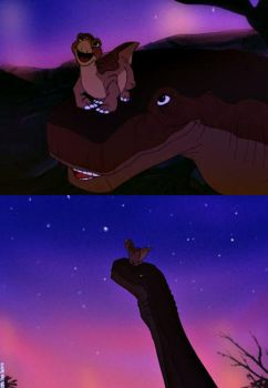 ''Yes, Littlefoot. It's very beautiful.'' by Kosperry