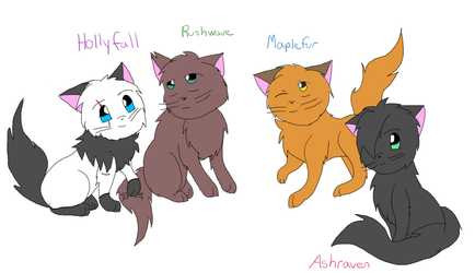 Thunderclan Siblings by Shea2468