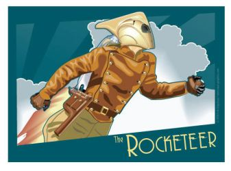 Rocketeer Banner by MercenaryGraphics