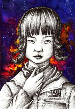 Rose Tico by AncaXBre