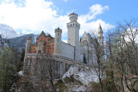 Neuschwanstein by Deliriousfox