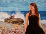 Joanna, Ocean Princess - oil painting by Giselle-M