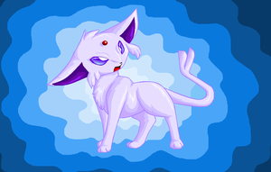 Yup its another espeon by Kyrara