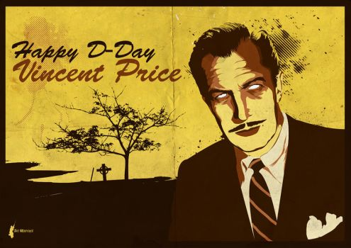 Happy D-Day Vincent Price by artwarriors