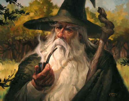 Gandalf the Grey by LucasGraciano
