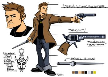 Supernatural: The Game - Dean Winchester by Gagoism