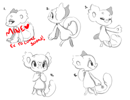 Bunch of Chibi Bagbean YCHs! (OPEN) by FluffleBear