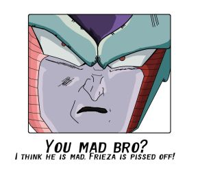 Frieza is Mad by Metalhead211