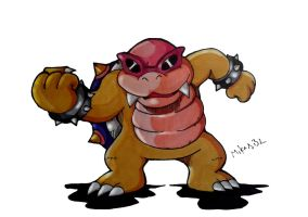 Roy Koopa by MikeES