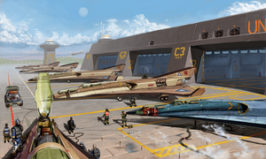 7th Orbital Bomber Wing by Aanker
