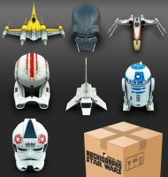 StarWars Icons Archigraphs by Cyberella74