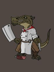 Griers the Kolbold Chef by DapperPoe