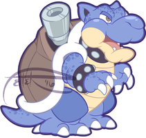 PM blastoise by MrsDrPepper