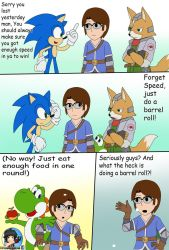 Comm: smash comic for MarioSonicGamer6 2/4 by Patdarux