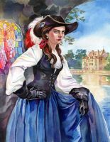 Mademoiselle Musketeer by Callista1981