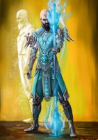 Diablo 3 Monk by doneplay