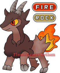 Pyroat from Pokemon Sage by FlameGamerNathan