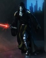 Armored Sith Warrior by KaRolding
