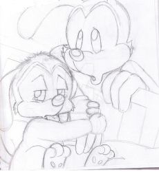 Animaniacs fanfic page1 by ChixWarners