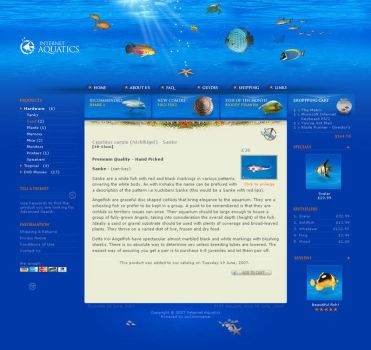 Internet Aquatics: layout by 9gods