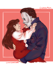 {HALLOWEEN} Uncle! Michael Myers and Jamie Lloyd by GinhaleaMoon