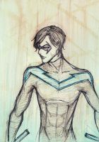 Nightwing by mlle-annette