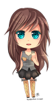 -- Chibi Comission for Soulia -- by Kurama-chan