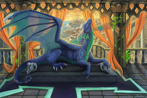Temple of Dragon by Leundra