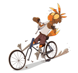 Bikes are difficult by PiemationsArt