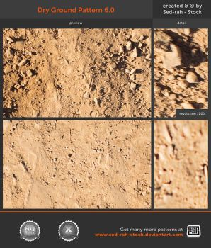 Dry Ground Pattern 6.0 by Sed-rah-Stock