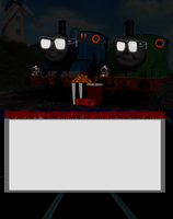 Thomas and Percy Movie Meme (Blank) by PeachLover94
