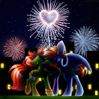 .:4th Of July's Kiss:. [G] by xXCosmicCarrotXx