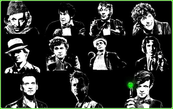 The 11 Doctors by Amrinalc