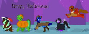 Happy Halloween_NightmareNight by LeafFox