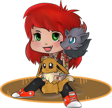 Chibi me by Madam-Balthamos