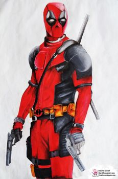 Painting pool,Deadpool xD by Akarshh