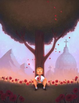 A Boy Who Became Pope by fabiolagarza