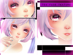[MMD] TDA Elegant Face Texture Download by AyaneFoxey