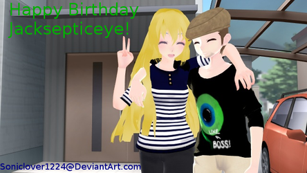 [MMD] Happy Late Birthday JackSepticeye! by soniclover1442