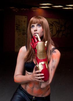 Pepper Potts Iron Man 3 Cosplay - Extremis by Abessinier